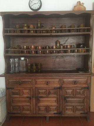 Mueble castellano de bodega