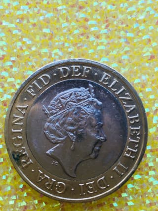 2 pound coin the great fire of London 2016.