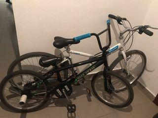 Bicicleta BMX y bici normal las dos por140€