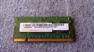 Memoria RAM DDR2 1Gb a 800Mhz para portátil