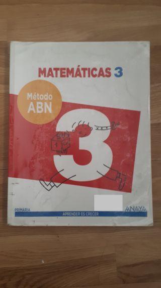 MATEMATICAS 3 PRIMARIA ABN