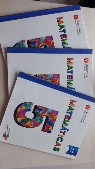 Libros de matemáticas 5° primaria