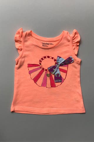 Camiseta bebé niña 12 18 meses. Gap.