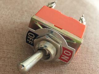 Interruptor doble vintage amplificador