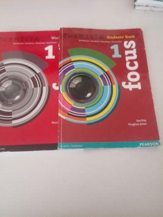 libros ingles 1°bach serie focus