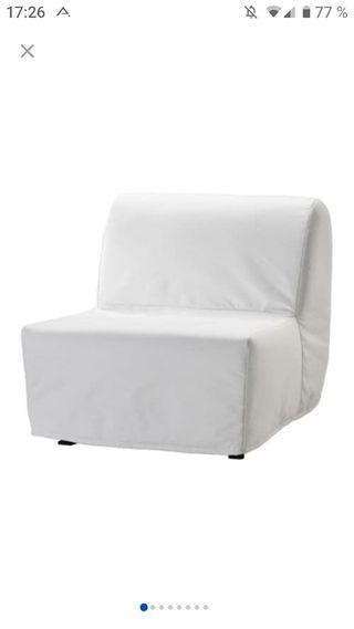 Sillón cama Ikea.
