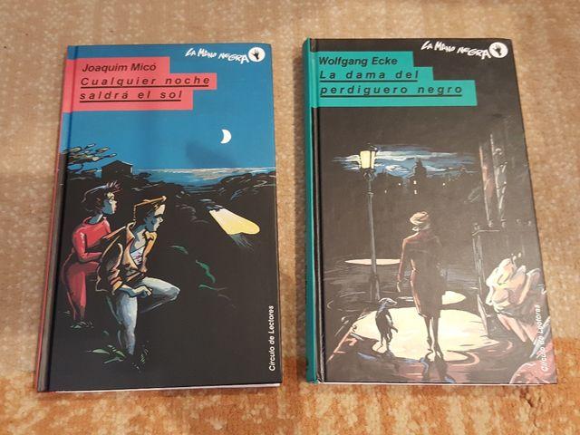 "Colección novela negra juvenil ""La mano negra"" de segunda"