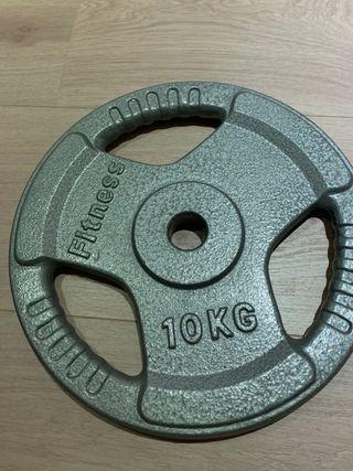 Discos pesas 10 kg