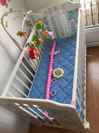 Colchon Flex para bebé y regalo cuna entera