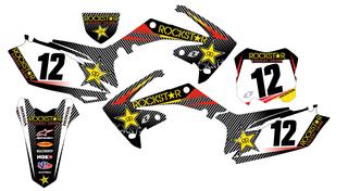 Kit de pegatinas Honda crf-450 2009-2012