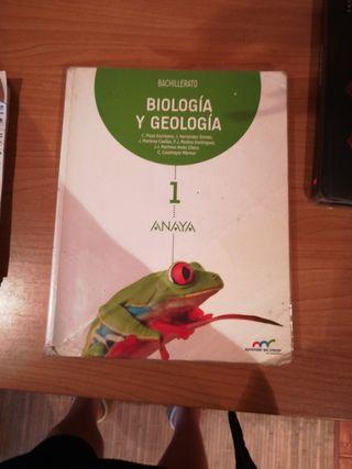 Biología 1°de bachiller