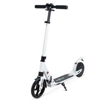 Patinete electrico scooter plegable con suspension