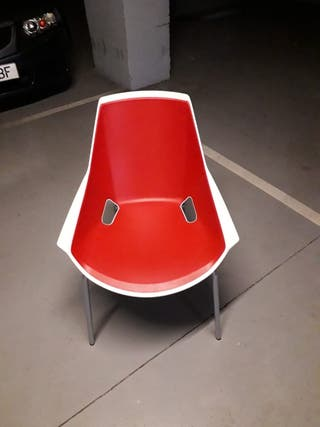 6 sillas vintage de oficina viva actiu