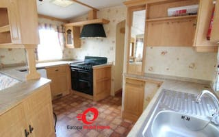 Espectacular mobile home 11x4 m clásica