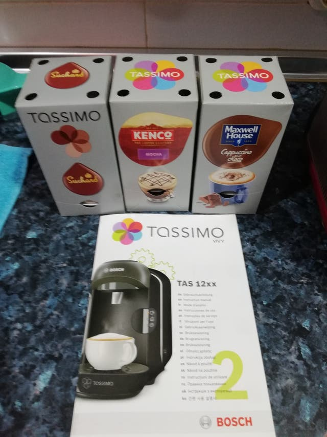 cafetera Tassimo de Bosch.