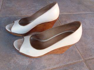 Zapatos cuña Massimo Dutti n.37,5