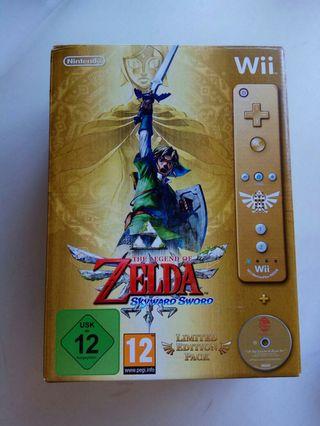 Zelda edición limitada para Wii