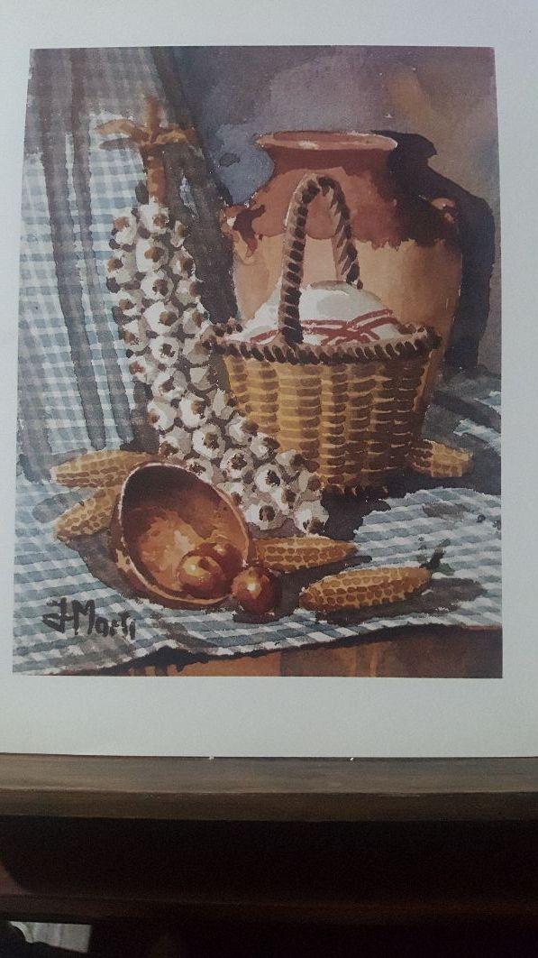 Colección de 10 láminas bodegón(Las vendo sueltas)