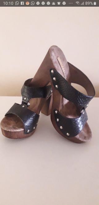 Zapato de tacon para mujer