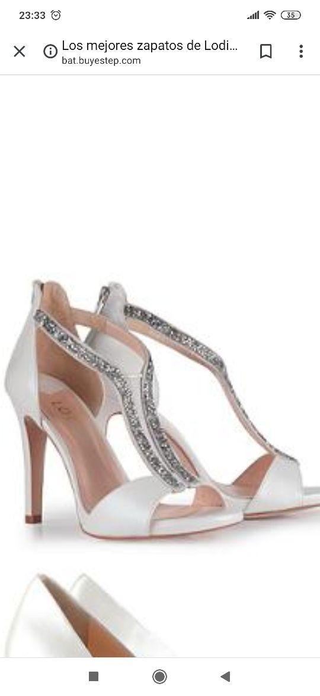 zapatos Gloria Ortiz boda NUEVO