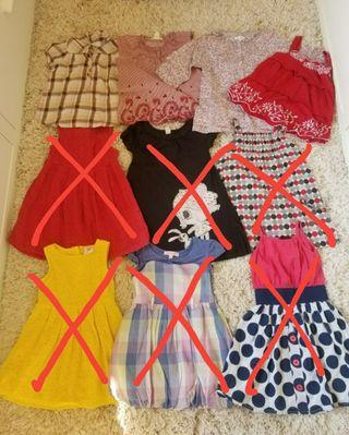 Pack de blusa 3-4 años
