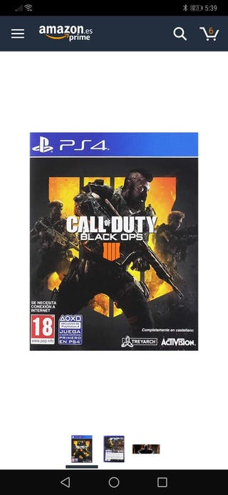 call of duty blacks ops 4 ps4