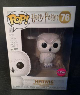 Funko pop Harry Potter Hedwig Flocked