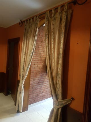 cortina de entrada