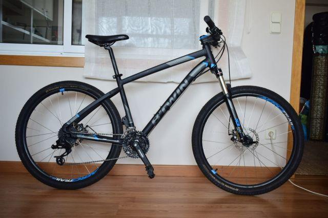 Bicicleta Mtb B Twin Rockrider St 520 Negra De Segunda Mano Por 200