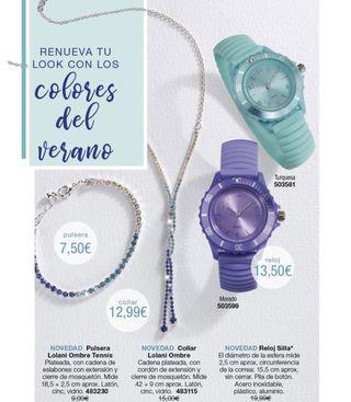 Relojes,collar y pulsera