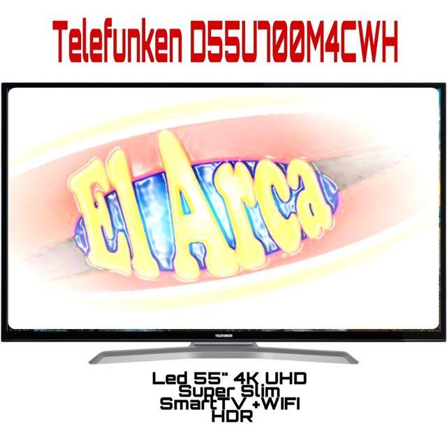 TV Telefunken D55U700M4CW 4K Ultra HD