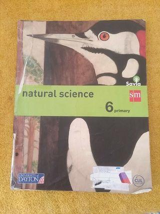 Libro 6 primaria Natural Science.SM