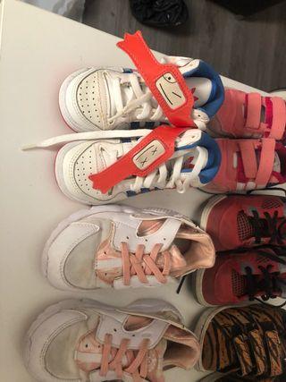 Nike ,Adidas ,Jordan reebok