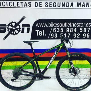 Bicicleta Ghost Htx carbón 5