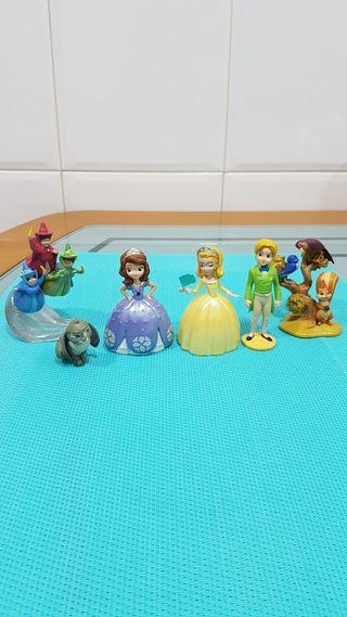 Muñecos Figuras Princesa Sofía