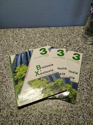 Libros 3° ESO Bioloxía e Xeoloxía Anaya