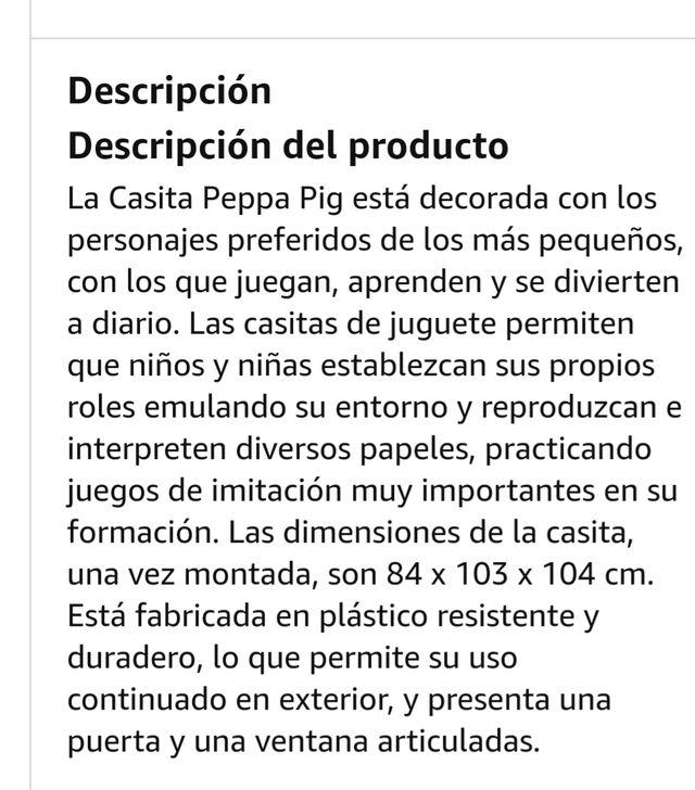 Casita Juguete de Jardin Peppa Pig