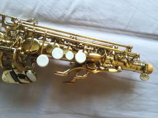 Saxofon soprano + accesorios