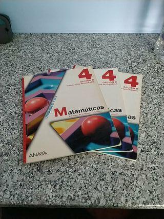 Libros Matemáticas 4° ESO ISBN 978-84-678-0251-1