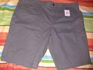 pantalon corto hombre t52 nuevo