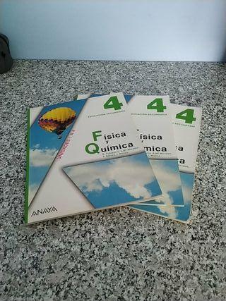 Libros 4° ESO Física y Química Anaya