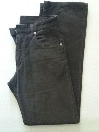 pantalón hombre pana t.40