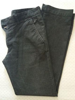lote 3 pantalones pana chico