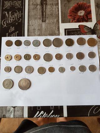 Monedas - Billetes de pesetas