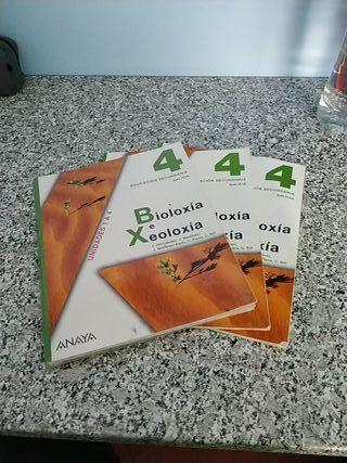 Libros 4° ESO Bioloxía e Xeoloxía Anaya