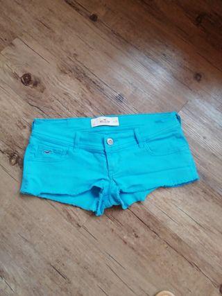 shorts- pantalón corto Hollister