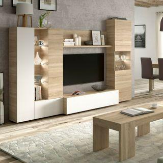 Mueble de comedor, moderno para salon con LEDS