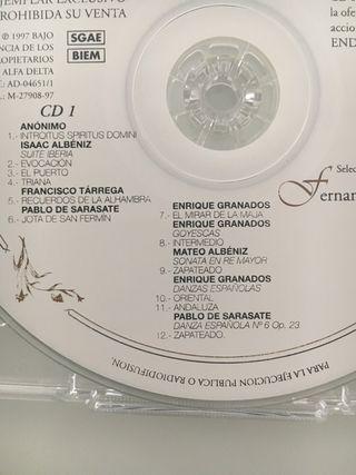 2 Cd clásicos españoles. Argenta