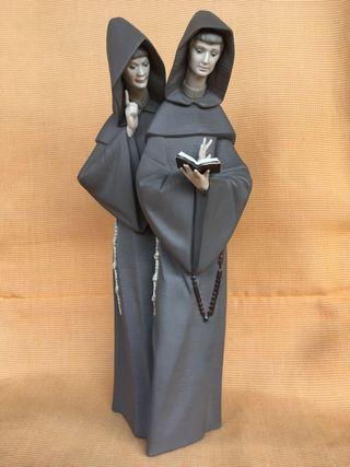 Frailes Lladró Monks
