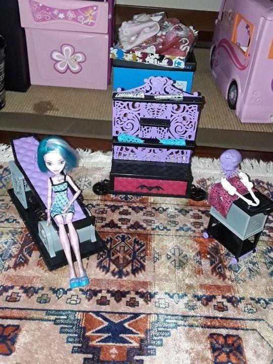 Laboratorio de las monster high+ muñeca